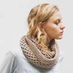 Honey Stitch Cowl Pattern