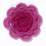 Irish Rose Crochet Flower