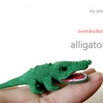 Itty Bitty Alligator Crochet Pattern