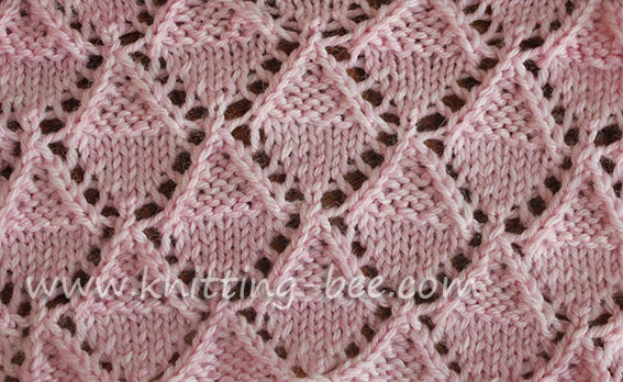 Lace-Stitch-knitting-Stockinette-and-Garter-Diamonds