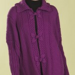 Leaf Poncho Jacket