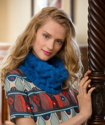 Once Around Cowl knitting pattern