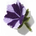 Petunia Flower Knit