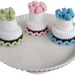 Two-Tier Cake Crochet