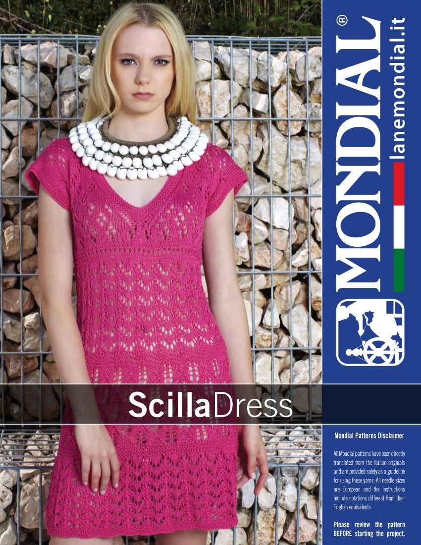 Scilla - Dress Knitting Pattern ⋆ Knitting Bee