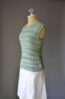 Simple Tank knitting pattern