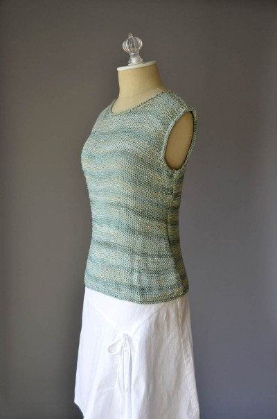 Simple Knitted Tank Pattern