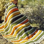 Tribal Afghan Knitting Pattern