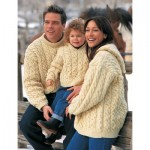 Family Cables Knitting Pattern