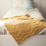 Sunshine Chevron Baby Blanket