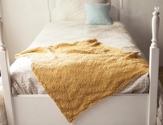chevron knitting pattern baby blanket