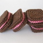 Square Sandwich Chocolate Cookies