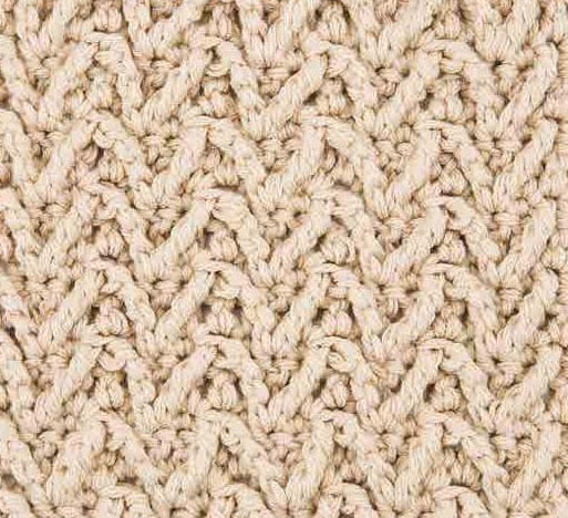 Arrowhead Crochet Stitch Pattern