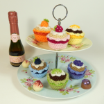 Birthday Cupcakes Crochet Pattern
