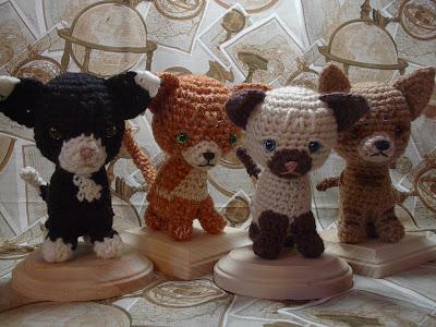 Crochet Kitties Pattern