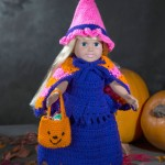 Doll Witch Costume Crochet Pattern