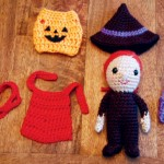 Dress-up Trick or Treater Amigurumi Crochet