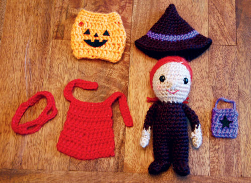 Amigurumi Halloween Free : Free free halloween witch crochet patterns patterns ⋆ knitting bee