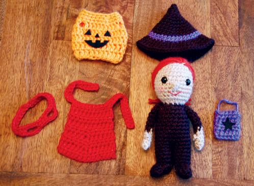Dress Up Dolls Amigurumi Crochet Patterns - Crochet Pattern Book ... | 364x498