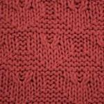 Textured Heart Knitting Pattern : Textured Heart - Free Knitting Stitch ? Knitting Bee