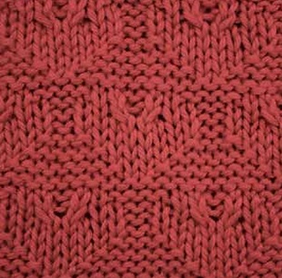 Free Heart Knitting Stitch