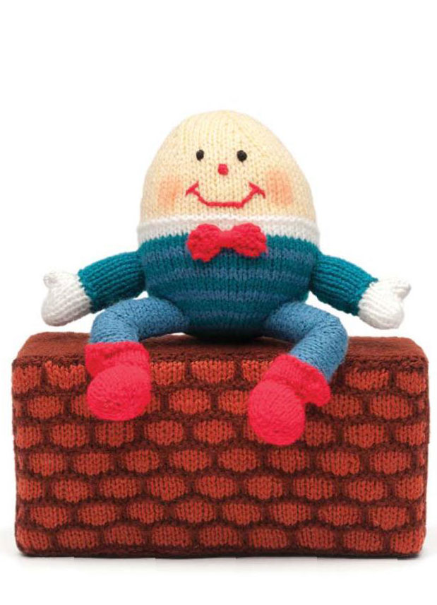 Humpty Dumpty Knitted Toy Knitting Bee