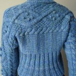 Crystal Palace Yarns  Aran Cabled Shrug