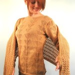 Leaflet Alpaca Cashmere Cockle Shell Pullover