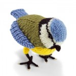 Knit Nature Motif: Blue Tit