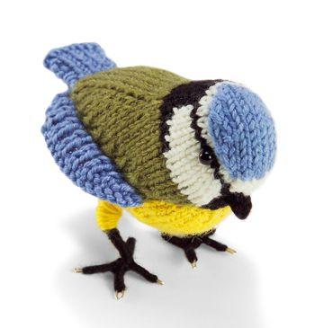 Knit Nature Motif: Blue Tit