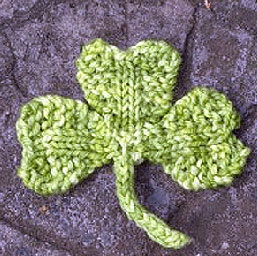 Free Shamrock Knitting Pattern