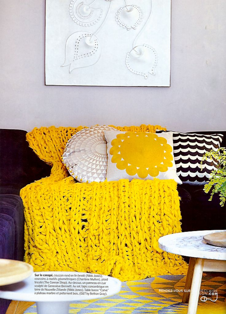 Huge Chunky Knit Throw