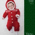 Baby Ull Hooded Romper for Xmas