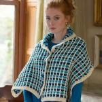 Buttoned Shawl Crochet Free Pattern