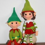 Christmas Elves Crochet Amigurumi