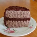 Crochet Birthday Cake