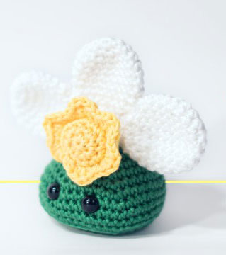 Easter-Narcissus-Bust-amigurumi