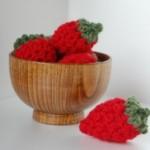 Easy Peasy Crochet Strawberries