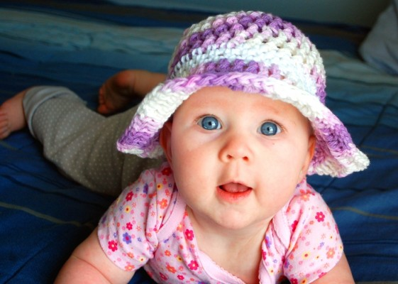 Pansy Sun Hat