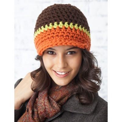 Peak Hat Free Crochet Pattern