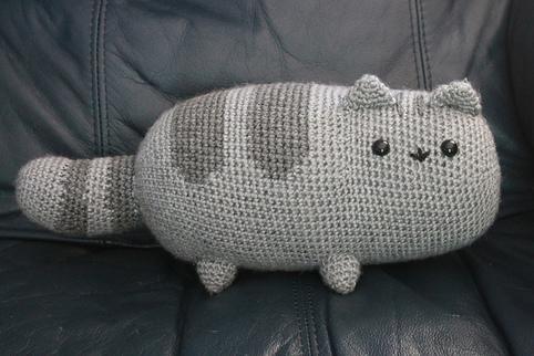 Pusheen the Cat Crochet Toy Free Pattern