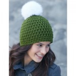 Quick Pompom Hat Crochet