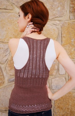 Racerback Knitted Tee Pattern 1