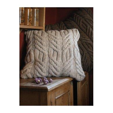Rutland Cushion in Rowan British Sheep Breeds Chunky Undyed