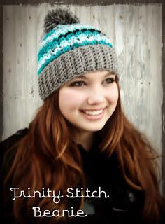 Trinity Hat Beanie Crochet Pattern