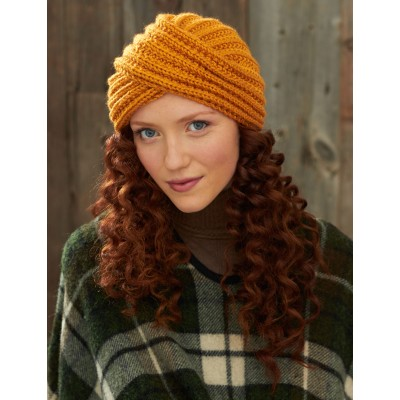 Turban Twist Hat Free Crochet Pattern