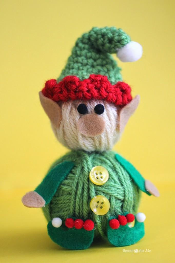 Yarn Ball Elf Crochet