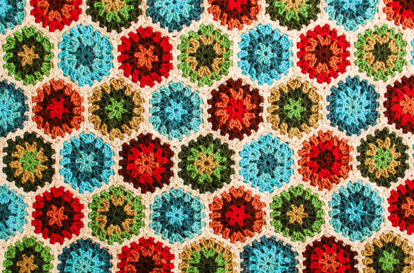 Granny Hexagon Pattern Free Crochet Pattern