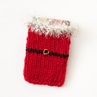 knitted card holder