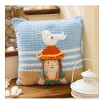 Snowy Day Pillow Free Crochet